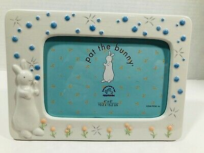 Russ Berrie Applause Pat the Bunny Rabbit Photo Frame