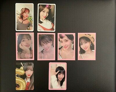 TWICE TWICETAGRAM SUMMER NIGHTS YES OR YES AND FANCY YOU OFFICIAL Momo Photocard