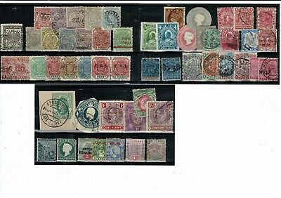 K724 British Africa on 3cards Transvaal Rhodesia COGH Zululand etc.