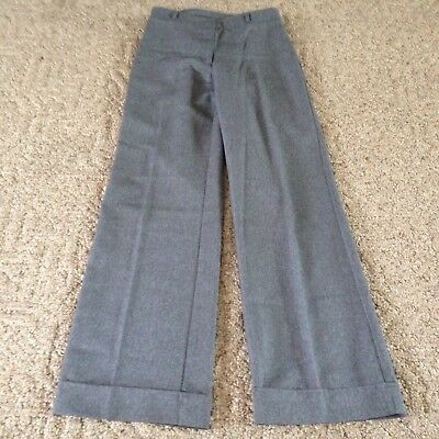 "Women's XOXO dress pants size 28"" gray polyester nice"