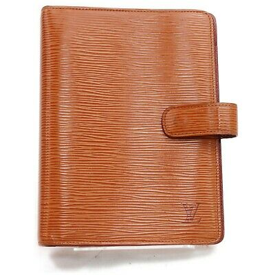 Louis Vuitton Diary Cover Agenda MM R20048 Browns Epi 817322