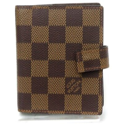 Louis Vuitton Diary Cover  R20705 Browns Damier 908726