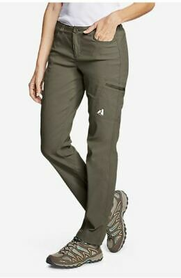 NWT Eddie Bauer First Ascent Guide Pant - Slate Green - WR 6 (MSRP $80)