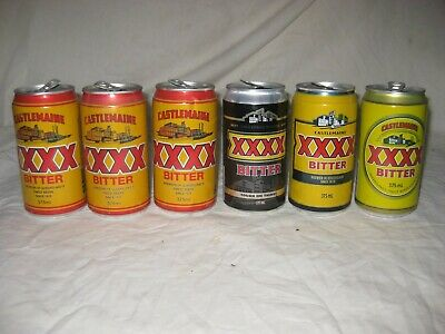 XXXX Bitter beer cans 6 cans