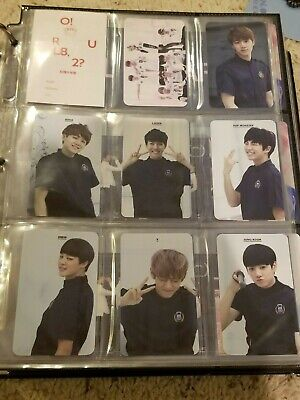 BTS Official Korean Photocards (ORUL82 to MOTS: Persona & 2018 Memories DVD)