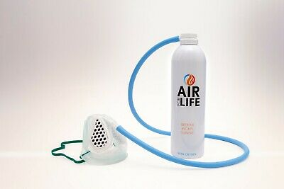 Face Mask And Oxygen In A Can 35 Litres