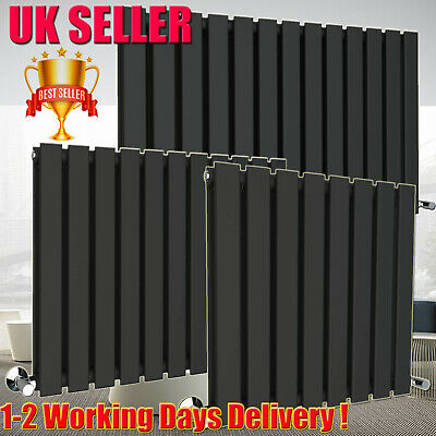 Anthracite Designer Radiator Vertical Horizontal Flat Panel Oval Column Rad Best