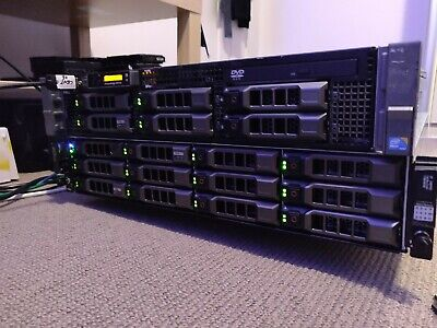 Dell PowerVault MD1200 Storage Array w/ 24TB 7.2K SAS HDD