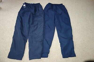 New & used slazenger navy blue tracksuit/jogging/jogger bottoms age 12 13