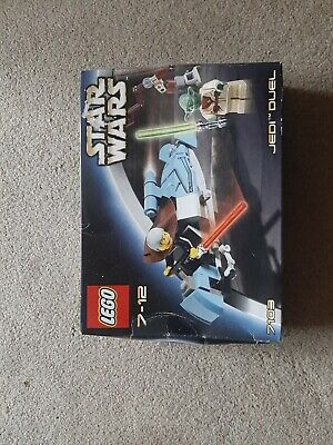 LEGO Star Wars 7103: Jedi Duel BNIB 2002 Discontinued Set. Never been opened.