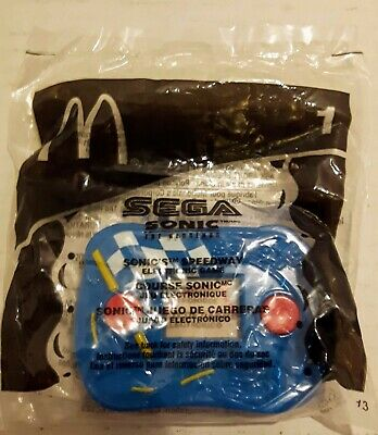 Mcdonald's 2003 Sonic The Hedgehog - Sonic's Speedway - Electronic Game - Sealed
