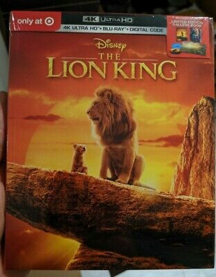 The Lion King (2019) Target Exclusive DigiBook (Blu-ray + 4K UHD) BRAND NEW!!
