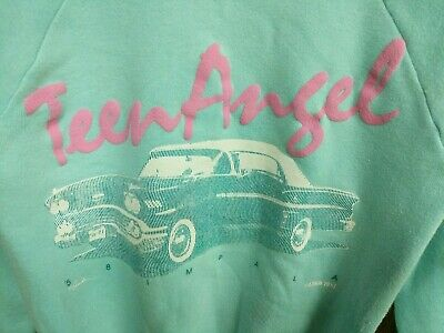 Vintage Girls Sweatshirt 1958 Impala Teen Angel size 14/16