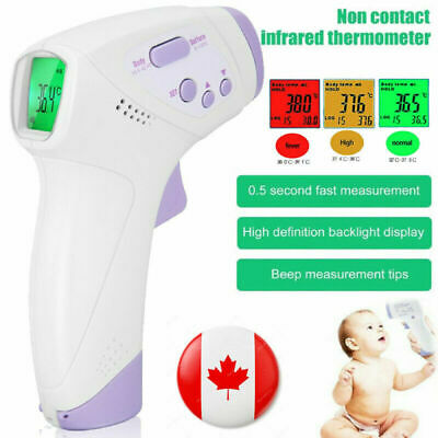 Infrared Digital Baby,Adult Forehead Thermometer No- contact Temperature Gun New
