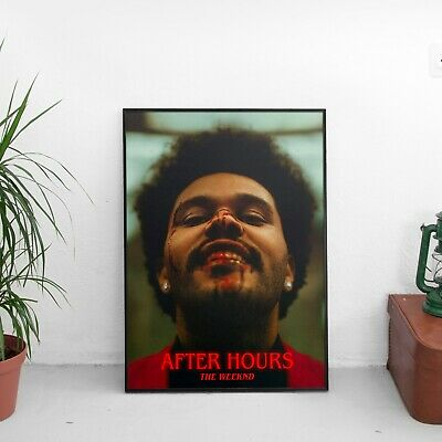 The Weeknd - After Hours Cover Art - HQ POSTER PRINT | A4 A3 A2 A1 |