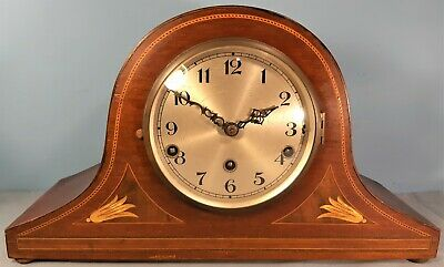 Antique Inlaid Westminster Chime Mantel Clock, Not working