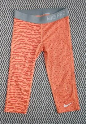 Girls Nike Pro Dri-Fit Cropped Leggings Age 10-11 11-12