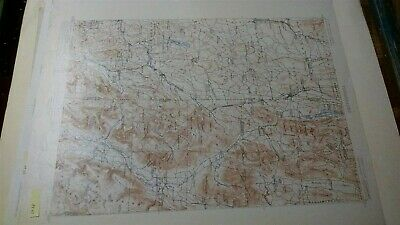 1903 New York Vermont Map Granville Manchester 1St Ed Geological Survey Map