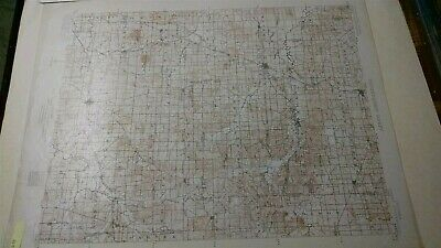 1902 INDIANA map BOONVILLE WINSLOW OAKLAND OTWELL 1ST EDITION GEOLOGICAL SURVEY