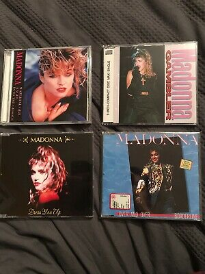 Madonna Gambler Over Dress You Up Angel Into Groove Material Japan CD Rare Remix