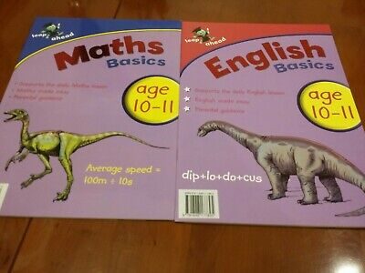 Leap Ahead Maths And English Home Learning Made Fun Workbook 10-11 years