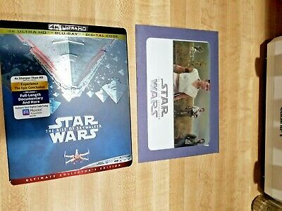 Star Wars: The Rise of Skywalker Slipcover Ed Ultra 4k+Blu-ray+Dig +Lithograph