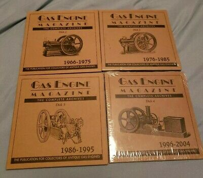 Gas Engine Magazine (The Complete Archives) 1966-2004 (4 CDs) 40 Years!