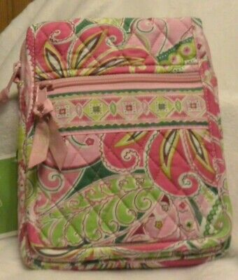Vera Bradley Mini Hipster in Pinwheel Pink Long Retired  NWT Think Mother's Day!