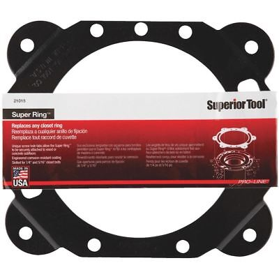 Single - Superior Tool 21015 Super Ring Closet Ring Replacement Toilet Flange