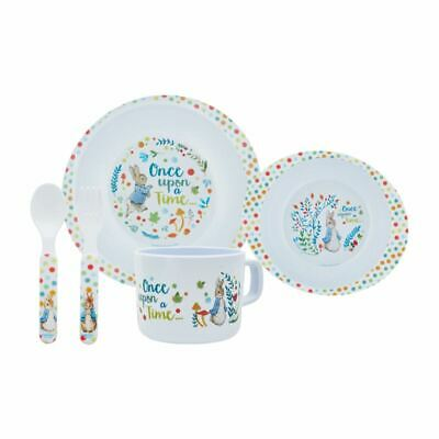 Peter Rabbit 5 Piece Dinner Meal Set