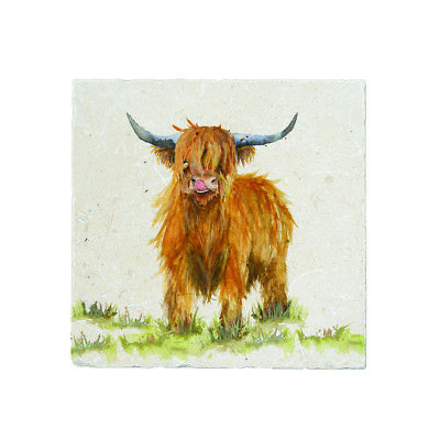 Highland Cow Large Platter - Kate of Kensington