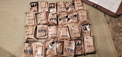 MRE (Meal Ready to Eat) Genuine Military Issue lot of 4 meals at random draw