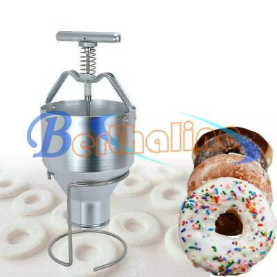 One Manual Home Donut Depositor Dropper Plunger Dough Batter Dispenser Hopper