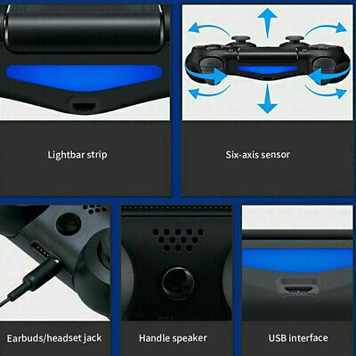 For PS4 PlayStation 4 Wireless Bluetooth Controller Game Gamepad Joystick UK NP