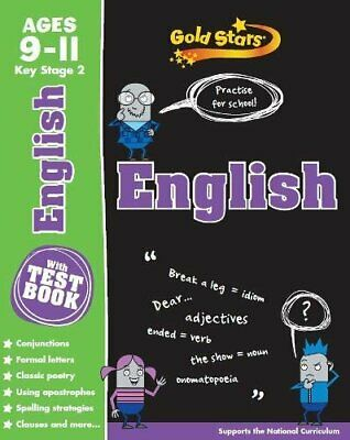 Gold Stars English Workbooks: KS2 Age 9-11 (With Test book for SATS Success)