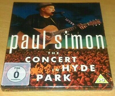 Paul Simon - The Concert In Hyde Park (2 x CD / Bluray)  New & Sealed