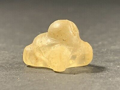 Ancient Persian Sassanian Rock Crystal Zoomorphic Carving Circa 700-800 Ad