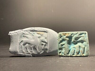 Museum Quality Ancient Roman Era Bronze Seal Circa 100-300 Ad Near East