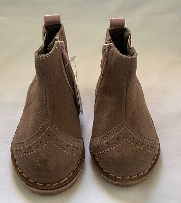 New Marks And Spencer Girls Ankle Boots Size Uk 4 Infants Eur 20.5