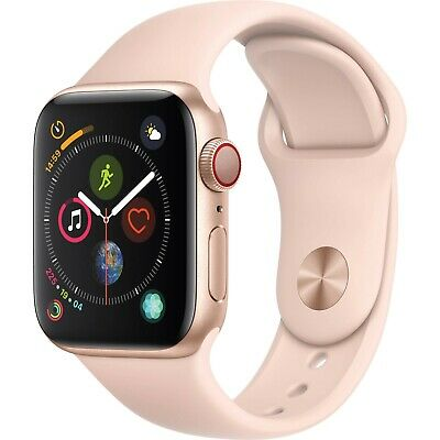 Apple iwatch series 4 (GPS+CELL.) 40 mm RoseGold With 3 Months Warranty