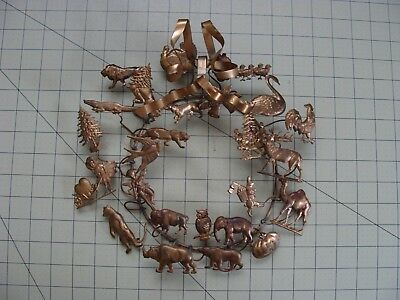Metal Animal Christmas Wreath