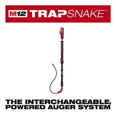 M12 Trap Snake 12 Volt Lithium-ion Cordless 6 Ft Toilet Auger Drain Cleaning