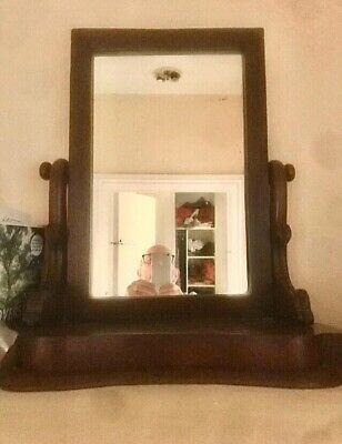Elegant Antique Victorian Mirror for dressing table or drawers.