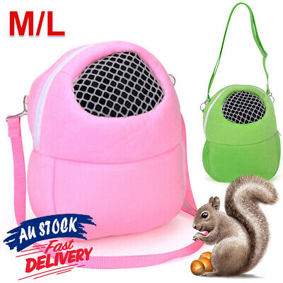 Carrier Bag Warm  Travel Carry Pouch Small Animal Guinea Pig Hamster Chinchilla