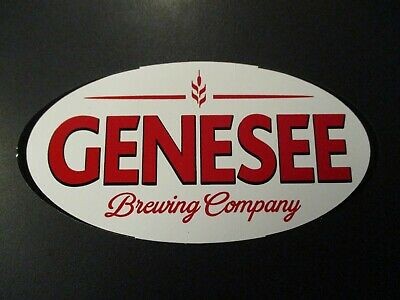 GENESEE Beer oval New York LOGO PATCH iron on craft beer brewery brewing