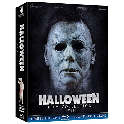 HALLOWEEN - Film Collection I-VIII - Limited Edition (9 Blu-ray + Booklet)