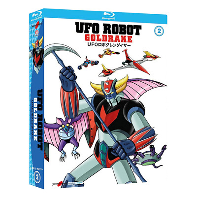 UFO ROBOT Goldrake - Vol. 2 (3 Blu-ray)