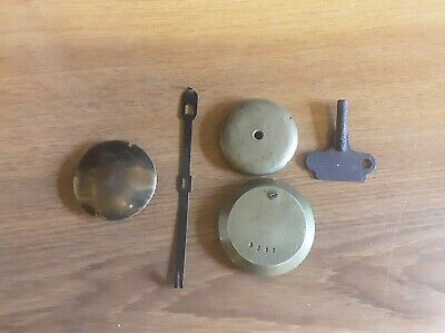 ANTIQUE CLOCK  PARTS,  8  MANTEL CLOCK  PENDULUMS and other parts
