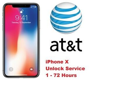 iPhone X XR XS / XS Max AT&T FACTORY UNLOCK CODE SERVICE - CLEAN IMEI FAST