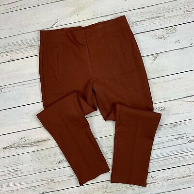 Chicos Juliet Ankle Pants Size 1 Ankle Womens 8 Pull On Ponte Knit 570210761